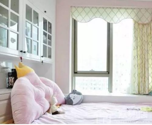 2019儿童房飘窗窗帘效果图 孩子看了喜欢得不得了