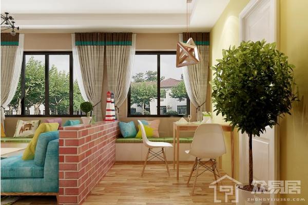 半吊顶装修效果图大全 客厅半吊顶装修设计简约平实