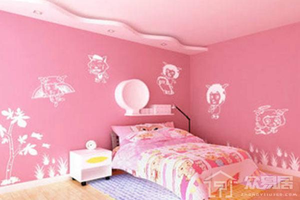 粉色硅藻泥墙面效果图 粉色硅藻泥墙面太迷人了