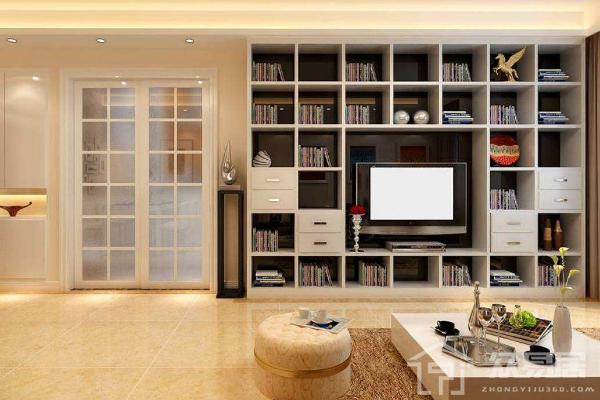 书柜放在客厅什么位置 2019客厅书柜摆放风水禁忌大全