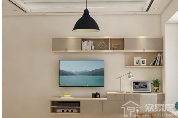 2019简单的电视柜图片大全 最简易的电视柜造型效果图