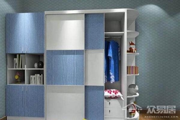 儿童衣柜书柜组合图片 年度最时尚儿童衣柜书柜组合实例