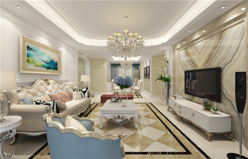 2019奢华欧式客厅装修效果图 欧式客厅的豪华装修案例