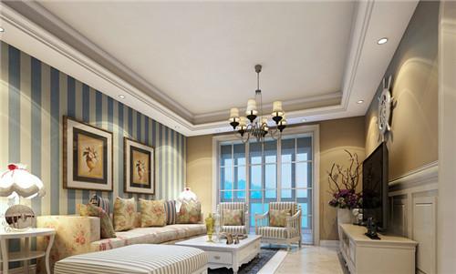 是要能吸引大众的眼球,从以上的图片中;沙发背后的墙纸设置得极为花俏