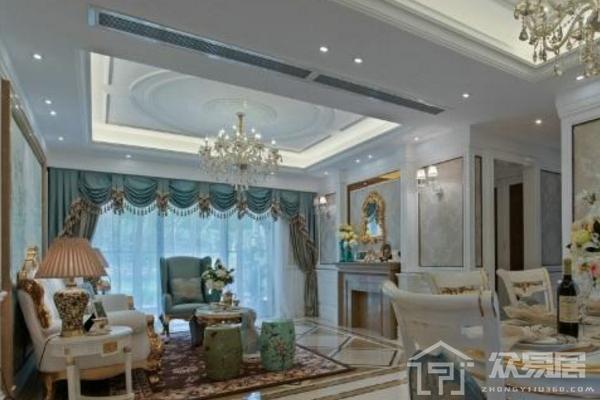 2019欧式风格客厅装修图片大全 打造典雅华丽欧式客厅