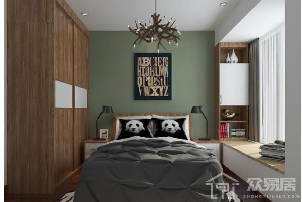 2019小房间床和衣柜设计图 4款精致小房间床和衣柜装修案例