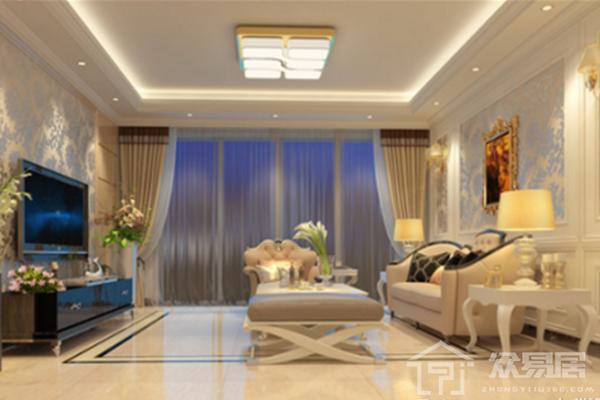 2019现代客厅窗帘效果图 3款超美现代风格窗帘搭配案例