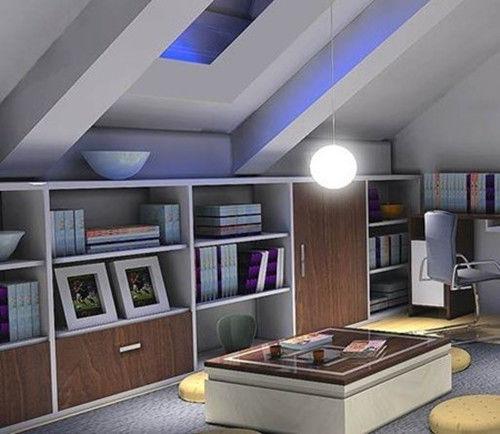 2019楼房阁楼装修效果图 4款最具风格楼房阁楼装修案例