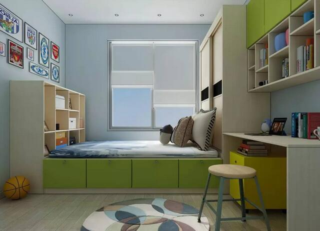 2019床柜一体装修效果图 年度最新床柜一体装修案例