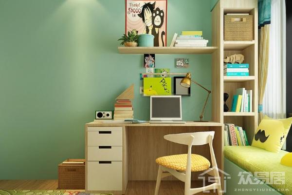 2019儿童房墙漆颜色效果图 4款超美儿童房刷墙漆图片