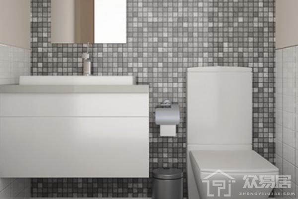 2019卫生间灰色瓷砖效果图 4张卫生间灰色瓷砖装修图片