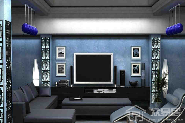 2019雕花装饰板电视墙图片 3款雕花装饰板电视墙效果图