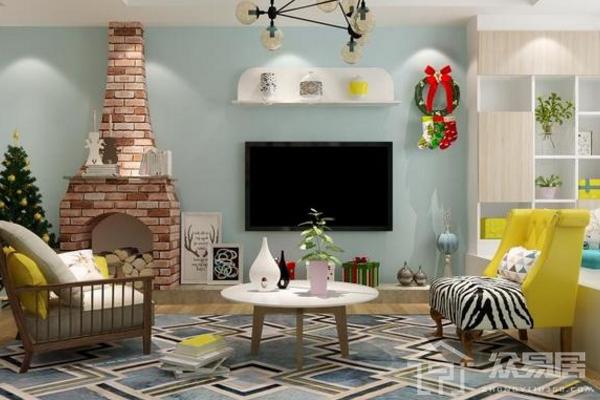 2019电视墙挂件装饰效果图 4款创意电视墙挂件装饰图片