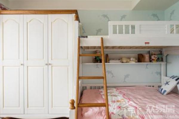 2019儿童房衣柜门图片大全 儿童房衣柜门装修效果图