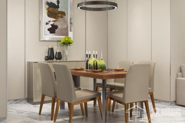 2019家庭餐厅墙面设计效果图 家庭餐厅墙面设计技巧