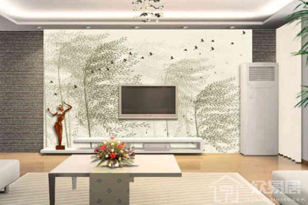 2019马赛克电视墙边框效果图 4款马赛克电视墙边框案例