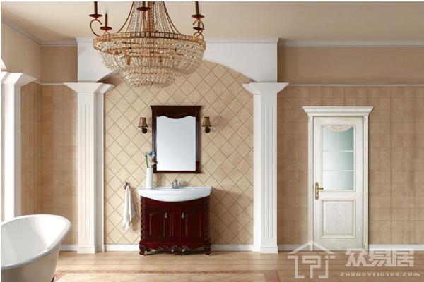 佛山卫生间墙砖效果图 卫生间墙砖搭配实在太有风格了