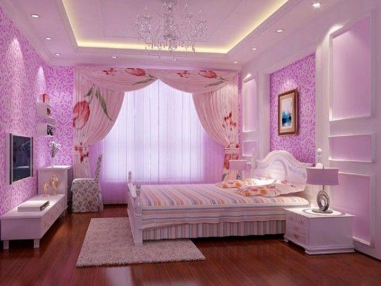 大连女孩房间装修效果图 打造时尚梦幻女孩小卧室