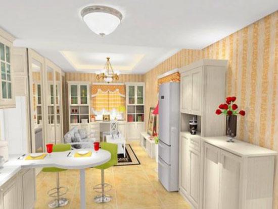 新中式注意的餐厅设计不只是豪华大气而已,玻璃材质和木质框架的组合搭配让这个厨房的移门变得更加地实用。这种精益求精的细节处理有很不错的效果,带给家人的是很不错的视觉体验,生活在这个空间的人不会觉得有压迫感。 以上就是众易居装修网小编为大家介绍的2019餐厅和厨房隔断效果图的相关知识,希望能够对你有所帮助。
