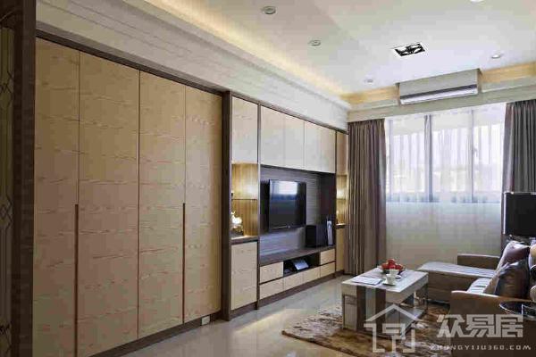 2019简易木工电视柜效果图 3款简易木工电视柜设计案例