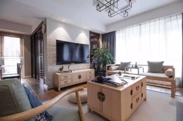 130平中式装修样板房 130平中式样板房装修实景图__