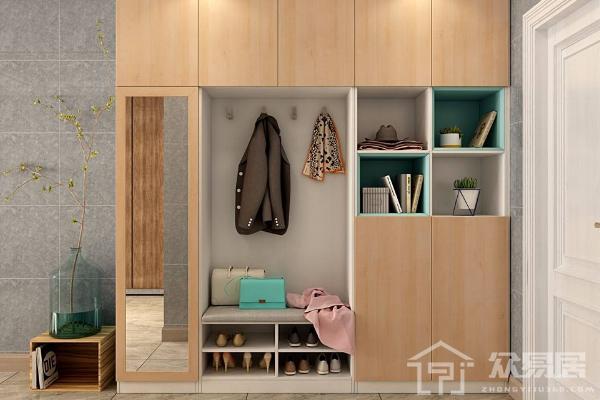 2019最新门口鞋柜设计方案 门口鞋柜设计注意事项