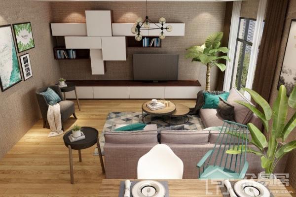 2019家装电视柜效果图 这5款电视柜实用造型美观