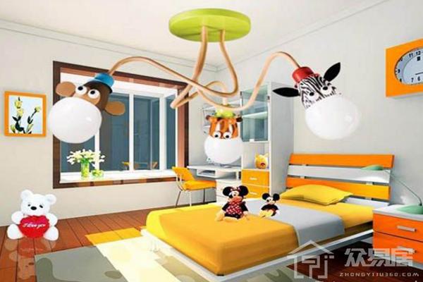 2019儿童卧室灯具图片大全 儿童卧室灯具搭配效果图