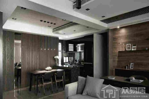 2019正方形餐厅吊顶效果图 正方形餐厅吊顶图片欣赏