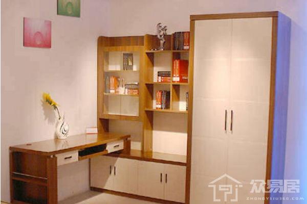 2019衣柜书柜组合设计图 4款实用衣柜书柜组合设计案例