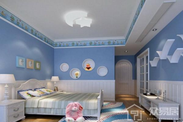 2019儿童房涂料颜色效果图 3款儿童房涂料颜色搭配案例