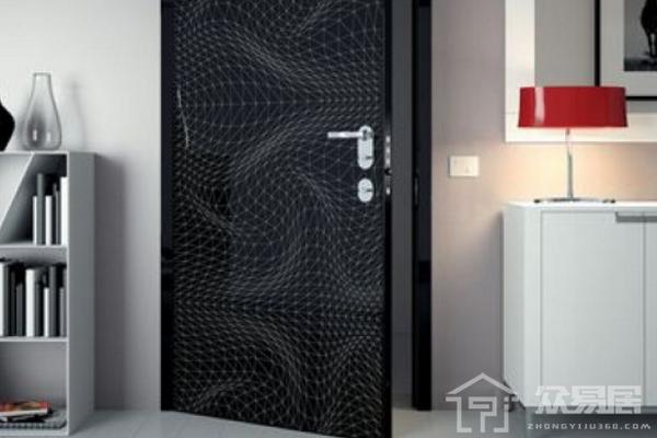 2019黑色门装修效果图 4款时尚个性黑色门装修案例
