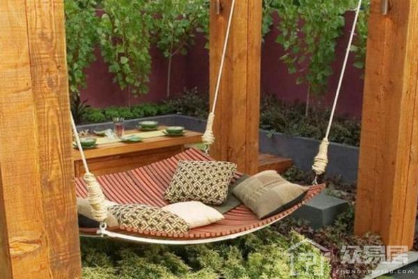 長沙日式花園裝修效果圖 4款休閑陽光日式花園裝修案例