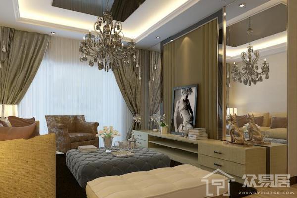 2019長方形客廳隔臥室圖片 4種方法巧妙隔出臥室空間