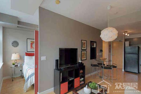 廈門大客廳隔一個小臥室圖 大客廳隔一個小臥室設計方案