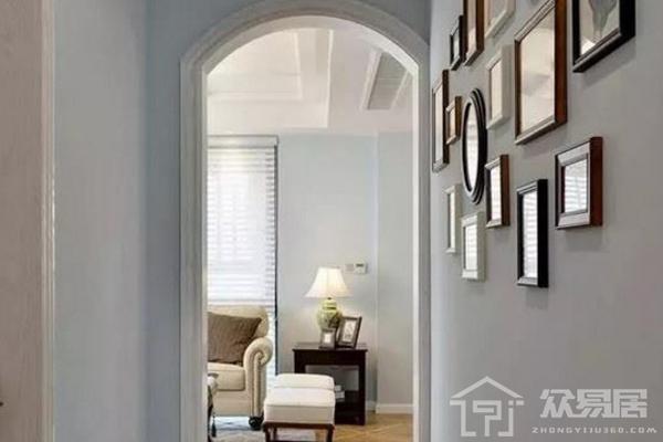2019走廊门框装修效果图 3款个性走廊门框装修实景图