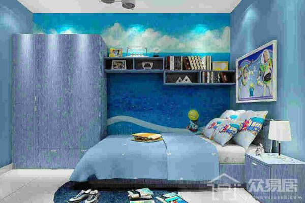 2019地中海蓝色墙面漆效果图 地中海蓝色墙面漆怎么搭配