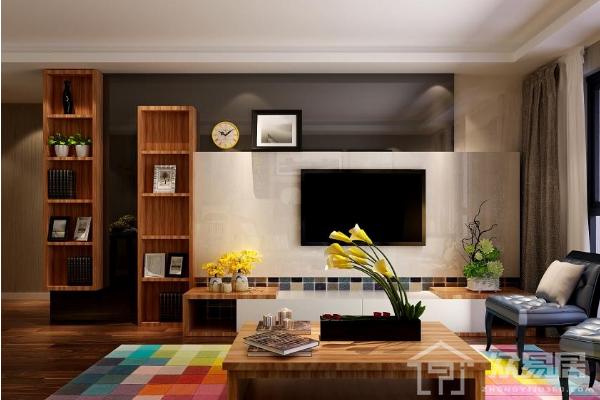 2019现代风格电视柜效果图 现代风格电视柜装修实例