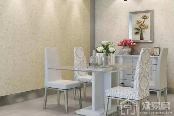 2019餐厅贴壁纸效果图 餐厅壁纸怎么装修搭配好看