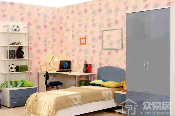 2019少女系房间装修效果图 3款唯美少女系房间装修案例