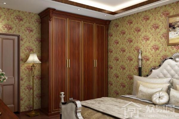 2019红色衣柜家装效果图 4款卧室红色衣柜搭配案例