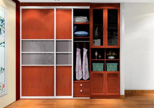 2019新中式衣柜门装修效果图 4款新中式衣柜门搭配图片