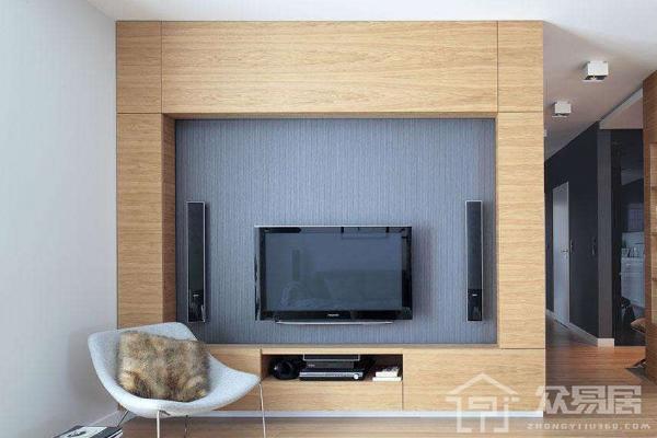 2019木地板做電視墻效果圖 木地板電視墻怎么做好