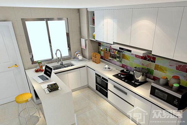 2019歐式廚房瓷磚裝修效果圖 歐式廚房瓷磚裝修案例