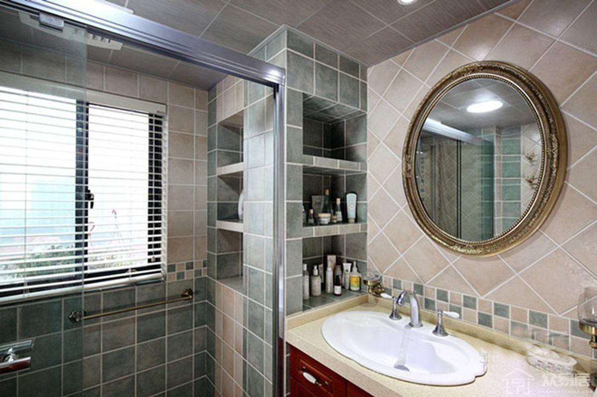 卫生间装修设计效果图