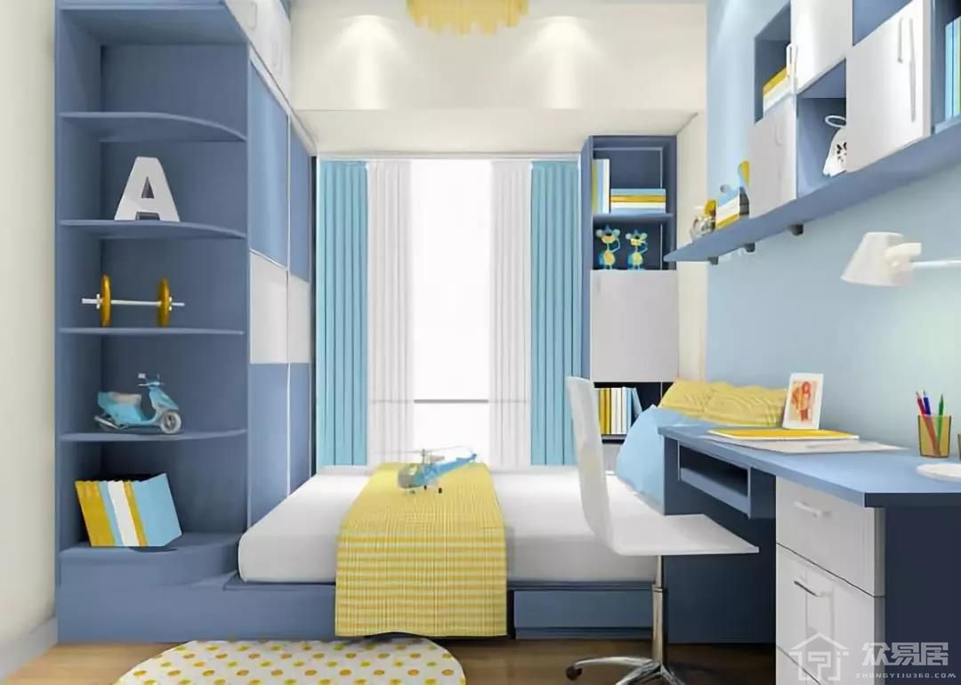 男孩子卧室装修注意事项 男宝宝房间如何装修设计好