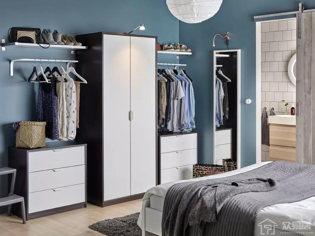 家装衣柜设计效果图