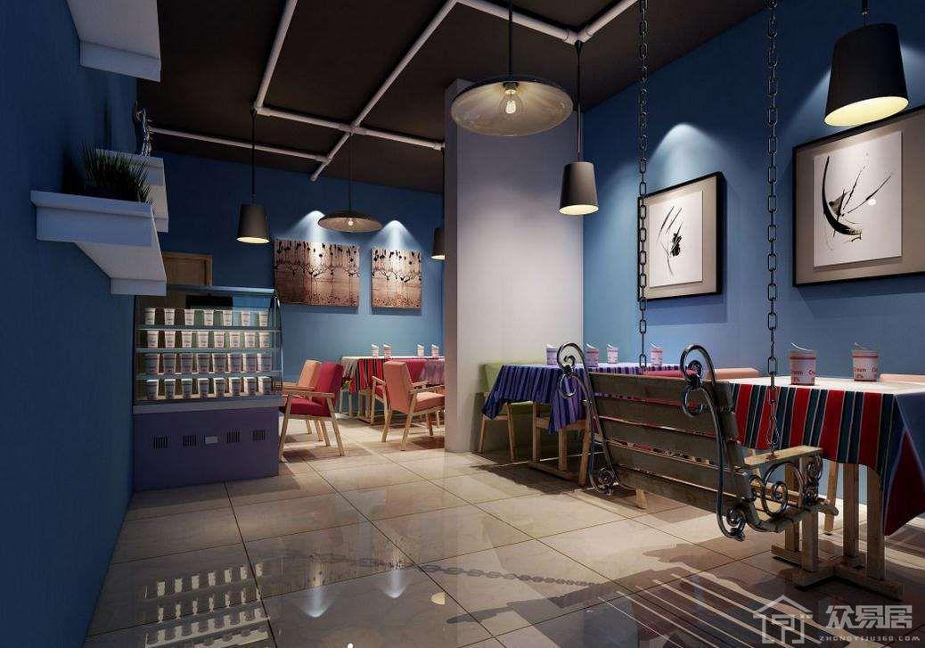 奶茶店装修设计需要注意什么原则?奶茶店装修设计要点及效果图
