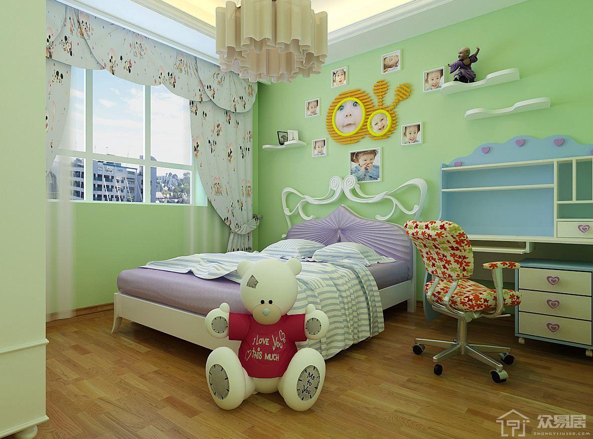 儿童房装修效果图 儿童房装修事项要点