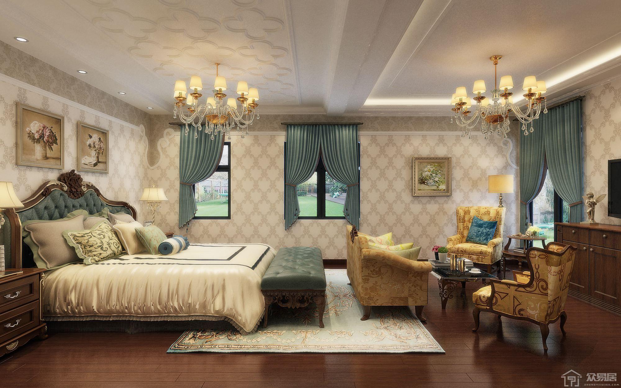 大户型卧室装修技巧 大户型卧室装修要点
